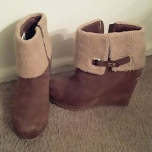 *NEW* Juicy Couture Wedge Boots